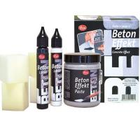 Beton Effekt Paste - Set von VivaDeko Kreativset, für´s Upcycling