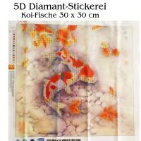 5D Diamant-Stickerei -Koi Fische-
