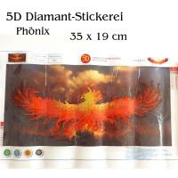 5D Diamant-Stickerei -Phönix- - 5D Diamant-Stickerei -Mandala 2- Full Drill- 5D Diamant-Stickerei