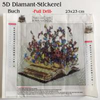 5D Diamant-Stickerei -Buch- Full Drill-
