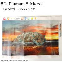 5D Diamant-Stickerei -Gepard-