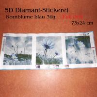 5D Diamant-Stickerei -Kornblume 3tlg - Full Drill-